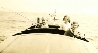 1934 Ted, Jean & Mildred