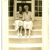 1932 Anna Brown & Mildred Dunham