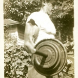 1946 Ted III weightlifting