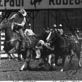 1974 Ted in St. Paul rodeo