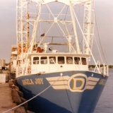 1975 Ted's fishing boat