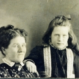 1907 Margaret A. Givens & daughter Irene